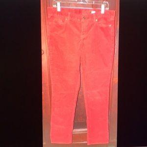 J Crew City Fit Corduroy Pants